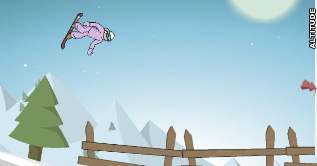Downhill Snowboard 2 Foto de pantalla
