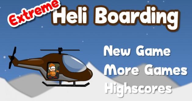Extreme Heli Boarding Foto de pantalla