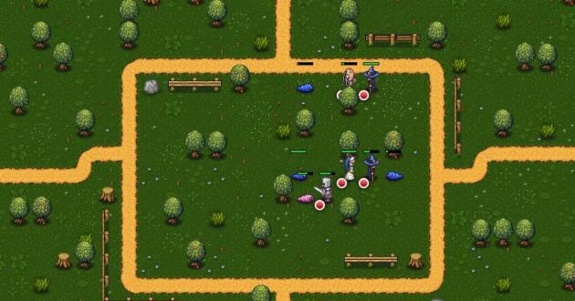 Hired Heroes Foto de pantalla