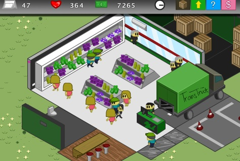 Mini Market Tycoon Foto de pantalla