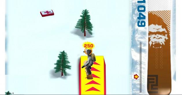 Snowboard Foto de pantalla