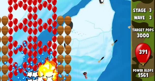 Bloons Supermonkey Foto de pantalla