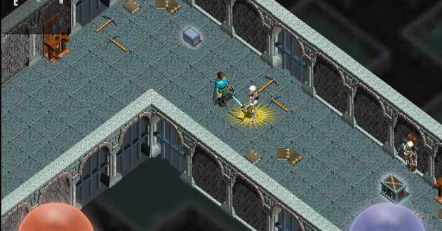 The Forgotten Dungeon Foto de pantalla