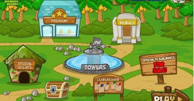 Tower Defense Bloons 5 Foto de pantalla