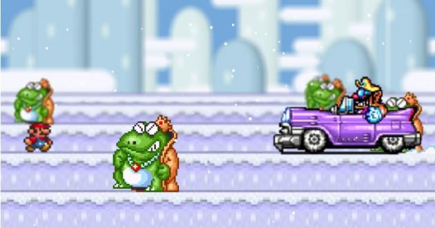 Mario Snow 2 Foto de pantalla